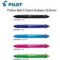 Pilot Frixion Pen 3 in 1 / Bolpen Pilot Frixion 3 warna - Hijau