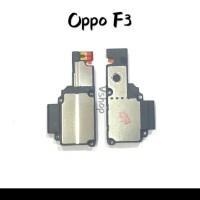 buzzer speker oppo f3 BOX ORI COMPLETE