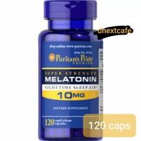 Puritans Puritan Pride Melatonin 10 mg 10mg isi 120 caps