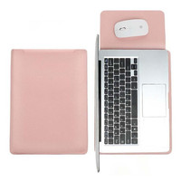 Tas Laptop Softcase Macbook Sleeve PU Leather 13 inch