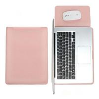 Tas Laptop Softcase Macbook Sleeve Slim PU Leather 14 inch