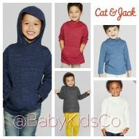 ORIGINAL Kaos Cat&Jack Hoodie Tee baju bayi anak laki cat and jack &