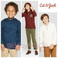 ORIGINAL Cat and Jack Hoodie Top kaos cat & jack anak laki tee tshirt