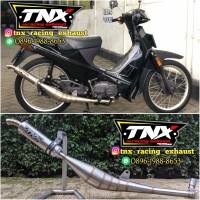 Knalpot Racing Suzuki Crystal Stainless TNX Racing Exahust