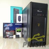 CPU PC Rakitan Intel Core I5 RAM 8GB HDD 500GB SSD 120GB Original