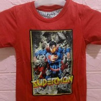Kaos Anak Super Hero-Supermen