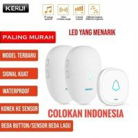 KERUI M521 Wireless Bel Rumah wireless Multi Tone Doorbell 2 Receiver