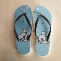 Sandal Jepit Anak Gambar BTS BT21 K-pop KPOP Korea / Sendal Motif