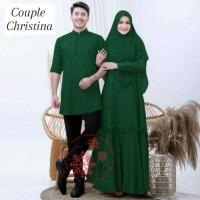 baju couple set busana muslim wanita dan pria gamis pasangan murah