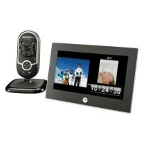 Baby Monitor Motorola MFV700 Digital Photo Frame and Baby Vidio Moni