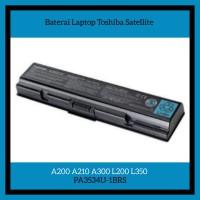 Baterai Laptop Toshiba Satellite A200 A210 A300 L200 L350 PA3534U-1BRS