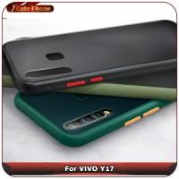Casing Hard Soft Case VIVO Y17 Y 17 Blur Matte Translucent Softcase