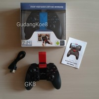 Stik gamepad HP stick Android X3 Bluetooth with bracket holder