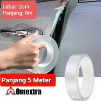 Stiker Transparan Anti Gores Pelindung Pintu High Bond Quality Sticker