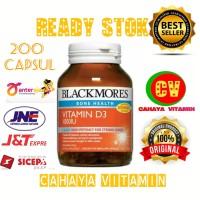 Blackmores Vitamin D3 1000 IU Vitamin D isi 200capsul