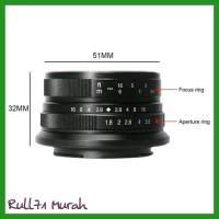 Terbaru Lensa Wide 7Artisans 25Mm F1.8 For Fujifilm X 7Artisan Fuji