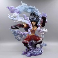 Action Figure One Piece Sa-Max Luffy Gear 4 Snake