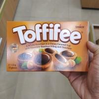 Toffifee Whole Hazelnut in Nougat Cream Filled Caramel 125 gr Coklat