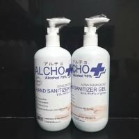 Hand Sanitizer Gel 500 ml Pump Standar WHO dan Sudah Kemenkes RI