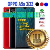 OPPO A5s RAM 3/32gb - GARANSI RESMI INDONESIA - red - black - blue