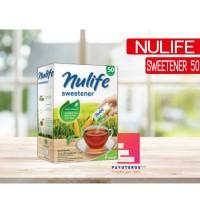 NULIFE SWEETENER ISI 50 SACHET / GULA DIET SEHAT RENDAH KALORI