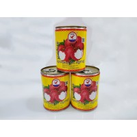 LYCHEE CAN BUAH LECI KALENG LYCHEES IN SYRUP HERRING BRAND dalam sirup