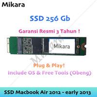 SSD Macbook Air 2012 - Early 2013 A1465 A1466 Plug n Play 256 Gb