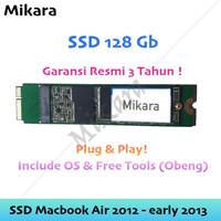 SSD Macbook Air 2012 - Early 2013 A1465 A1466 Plug n Play Bonus Obeng