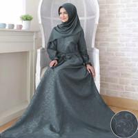 Gamis Wanita Syari Embos Fashion Muslim Banyak Pilihan Warna