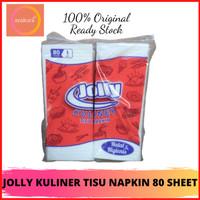TISSUE JOLLY KULINER TISU NAPKIN 80 SHEET - TISSUE NAPKIN