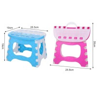 Kursi Lipat Portabel dengan Bahan Plastik dan Ukuran Kecil untuk