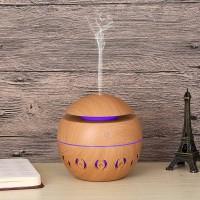 FaFa15 Taffware Ultrasonic Humidifier Aroma Essential Oil Wood 130ml
