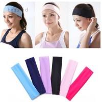 Bandana Elastis untuk Aksesoris Rambut Wanita / Yoga / Dance / Biker