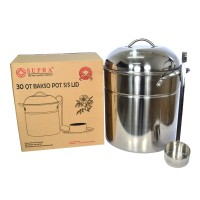 Supra Stainless Bakso Pot 30 Qt Panci Bakso Stainless 28.4 Liter