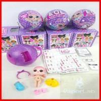 Lol Surprise L O L Surprise Egg Ungu Kinder Mainan Anak Seri Series 2
