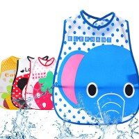 Bib Slabber Waterproof Makan Anak Model Baju