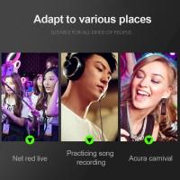 3 Meter MP3 Subwoofer Earphone Network Anchor Broadcast Live Karaoke
