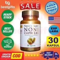 New !! NATURE'S NATURES NATURE HEALTH NONI CAPSULES 500 MG IMUNITAS DA
