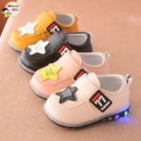 Infant Baby Girls Boys Soft Bottom LED lighting Casual Shoes