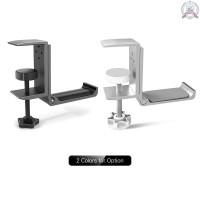 J&F Universal Headset Hanger Headphone Hook Holder Desk Mount Stand