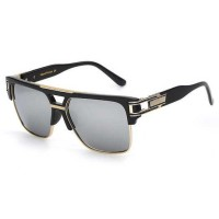 FaFa15 XIU Kacamata Wanita Anti UV - 9-1-6626 [Hitam Silver]