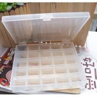 Bobbin Plastic Case Box Spool Bobbin Organiser Storage 25 Container