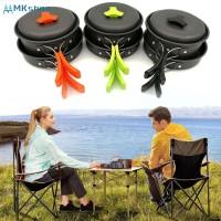 Set Alat Masak Portable Ultra Ringan untuk Outdoor / Camping /