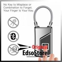 Gembok Koper Serbaguna Smart Fingerprint Padlock - G3 [Gray]