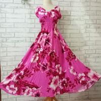 dress all size jumbo/dress big size/dress tanktop big size pink