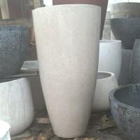 Pot Teraso Ukuran Diameter 50cm Tinggi 100cm