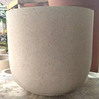 Pot Teraso Ukuran Diameter 50cm Tinggi 45cm