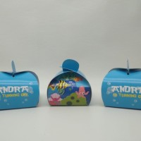 candy box under the sea / wadah permen under the sea