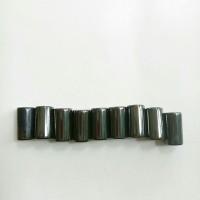 Magnet hitam metalic tabung 0.7*1.3cm (isi 9)