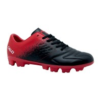 CALCI Sepatu Bola Nero SC - Black Red